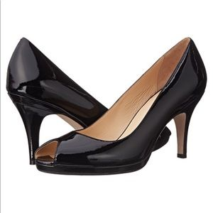 Cole Haan Nike Air Patent Leather Carma Pumps